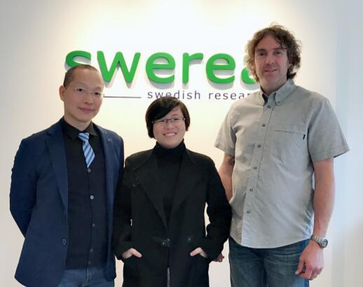上海球王会体育官方网CEO拜访瑞典IVF