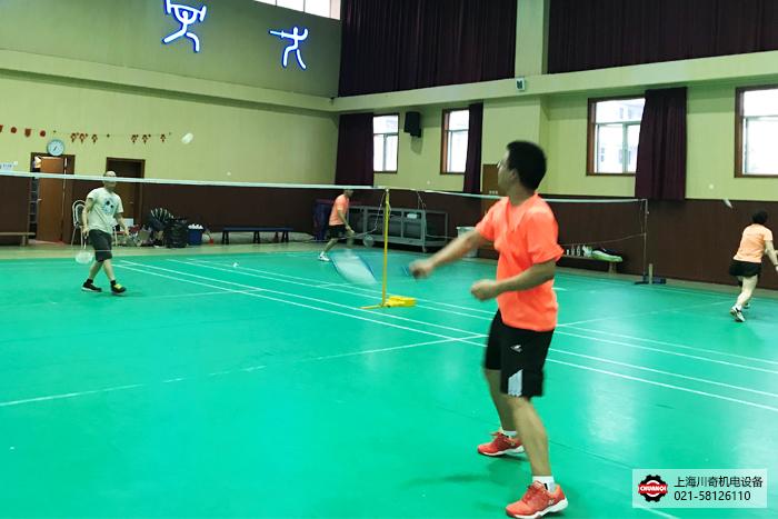 上海球王会体育官方网7月羽毛球团建活动圆满结束!